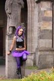 Gotische Art und Weise Stockbild