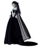 Gotische Braut - 1 Lizenzfreies Stockbild