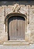 Gotische deur Royalty-vrije Stock Fotografie