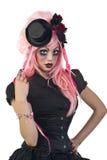 Gotische Doll Stock Fotografie