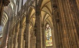 Gotische Dom van Keulen Stock Foto's