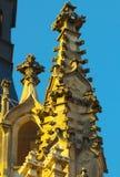 Gotische elementen Royalty-vrije Stock Afbeeldingen