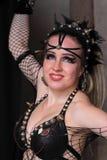 Gotische extravagante vrouw Stock Fotografie
