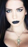 Gotische Frau Lizenzfreies Stockfoto