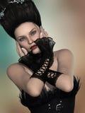 Gotische Frau lizenzfreies stockbild