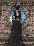 Gotische Frau stockbilder