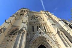Gotische Heiliges Andre Kathedrale, Bordeaux Lizenzfreies Stockbild