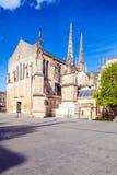 Gotische Heiliges Andre Kathedrale, Bordeaux Stockfotografie