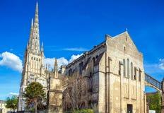 Gotische Heiliges Andre Kathedrale, Bordeaux Stockbilder