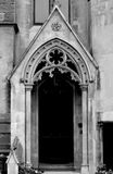 Gotische Ingang Royalty-vrije Stock Foto