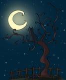 Gotische kat Royalty-vrije Illustratie