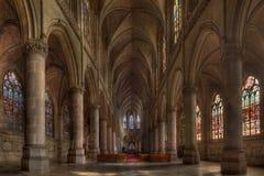 Gotische Kathedraal Stock Foto's