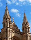 Gotische Kathedraal Stock Afbeeldingen