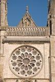 Gotische Kathedraal in Chartres Stock Foto