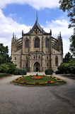 Gotische kathedraal, Kutna Hora Royalty-vrije Stock Afbeeldingen