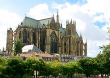 Gotische Kathedraal, Metz Royalty-vrije Stock Afbeeldingen
