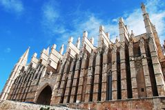 Gotische Kathedrale Stockfotografie