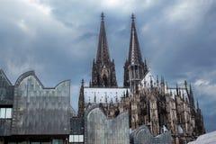 Gotische Kathedrale in Köln Stockfotos