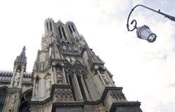 Gotische Kathedrale, Reims lizenzfreie stockfotos