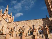 Gotische kerk Stock Afbeeldingen