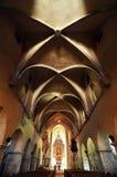 Gotische kerk in Transsylvanië Royalty-vrije Stock Afbeelding