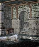 Gotische kerker 1 Stock Afbeeldingen