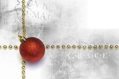 Gotische Kerstmisachtergrond Stock Foto's