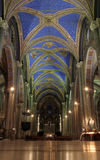 Gotische Kirche lizenzfreie stockbilder