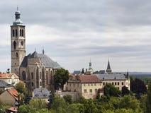 Gotische Kirche des Heiligen James Stockfotografie