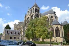 Gotische Kirche in Frankreich Lizenzfreie Stockfotos