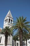 Gotische Kirche Trogir Stockbild