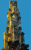 Gotische Kolom Stock Afbeelding