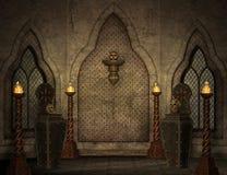 Gotische Landschaft lizenzfreie abbildung