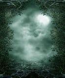 Gotische Landschaft 30 lizenzfreie abbildung