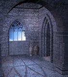 Gotische Landschaft 41 stock abbildung