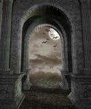 Gotische Landschaft 44 Stockfotografie