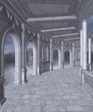 Gotische Landschaft 53 vektor abbildung