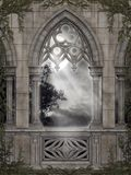 Gotische Landschaft 67 Stockfotos