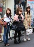 Gotische lolitas Royalty-vrije Stock Foto