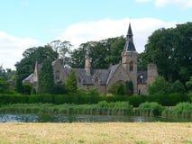 Gotische manor stock foto's