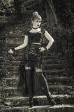 Gotische Mädchengeliebte Lizenzfreies Stockbild