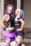 Gotische meisjes Royalty-vrije Stock Foto
