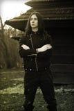 Gotische mens Stock Fotografie