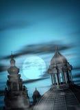 Gotische Nacht Stockfotografie