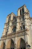 Gotische Notre Dame in Parijs, Frankrijk Stock Foto's