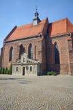 Gotische parochiekerk royalty-vrije stock afbeeldingen