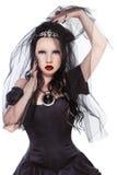 Gotische Prinzessin stockfotos
