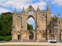 Gotische restauratie royalty-vrije stock afbeeldingen