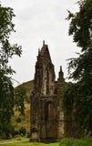 Gotische Ruine - Holyrood-Abtei Stockbilder
