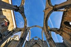 Gotische ruïnes Royalty-vrije Stock Foto's